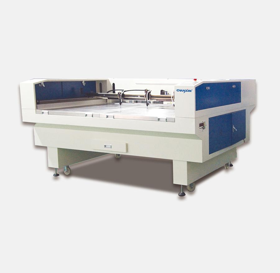 CW-1810T无尘服洁净服激光切割机